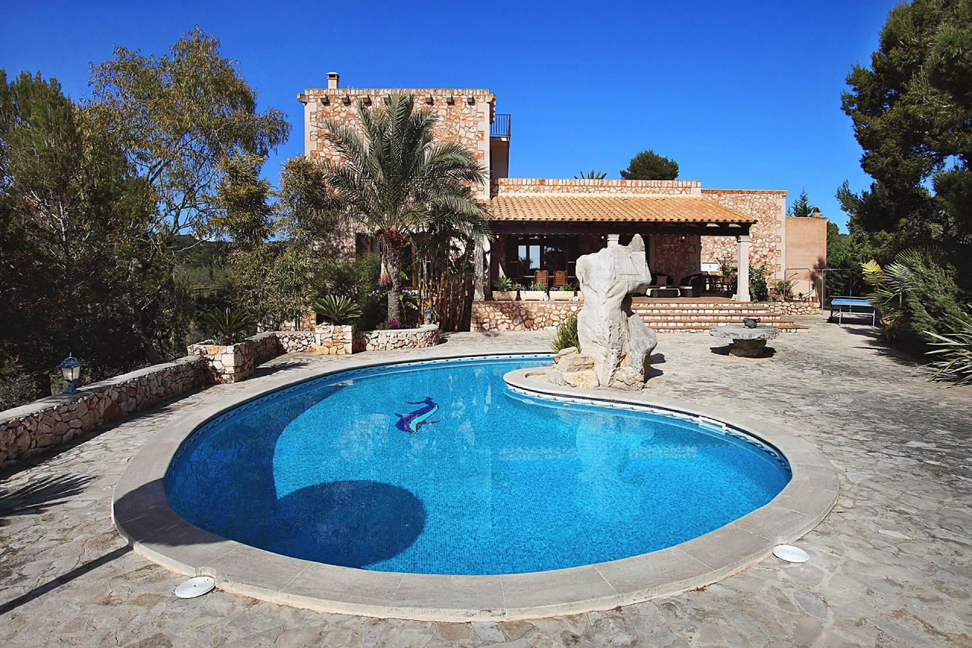 01-138 wintertaugliche Finca  Mallorca Osten Bild 5