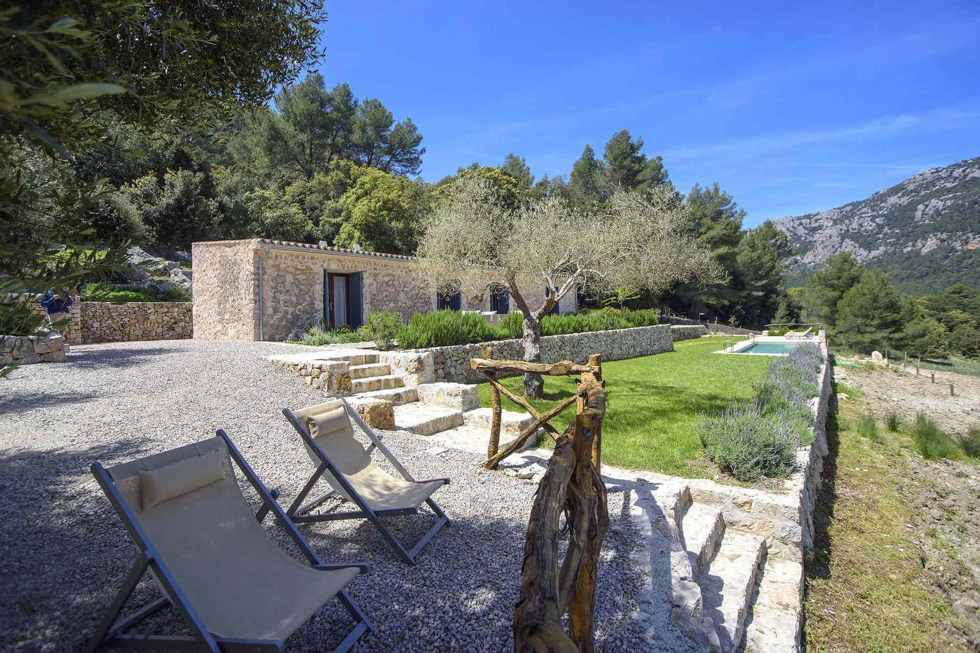 01-339 moderne kleine Finca Mallorca Westen Bild 5