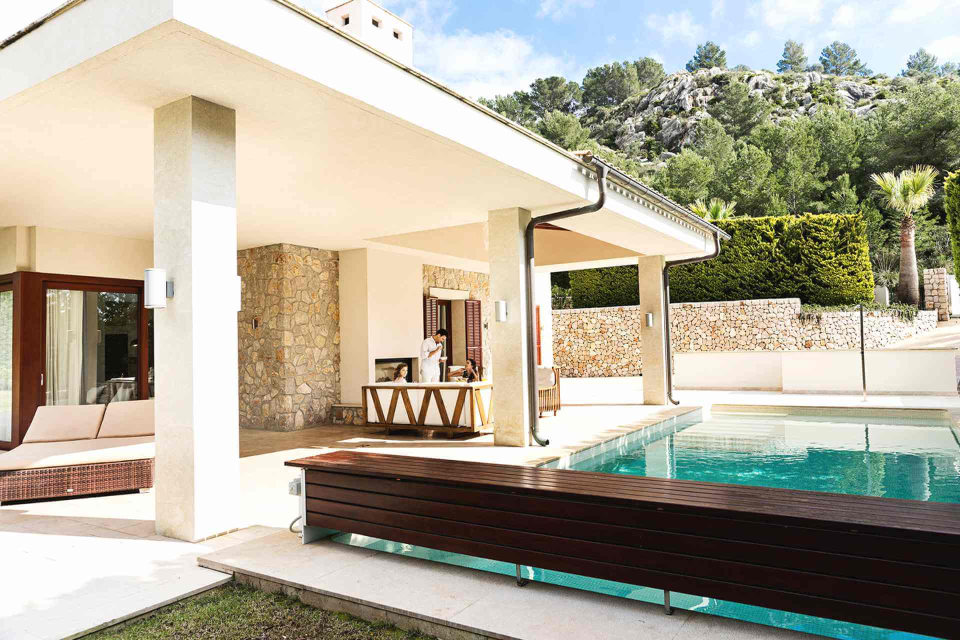 01-329 exklusive Villa Mallorca Nordosten Bild 5
