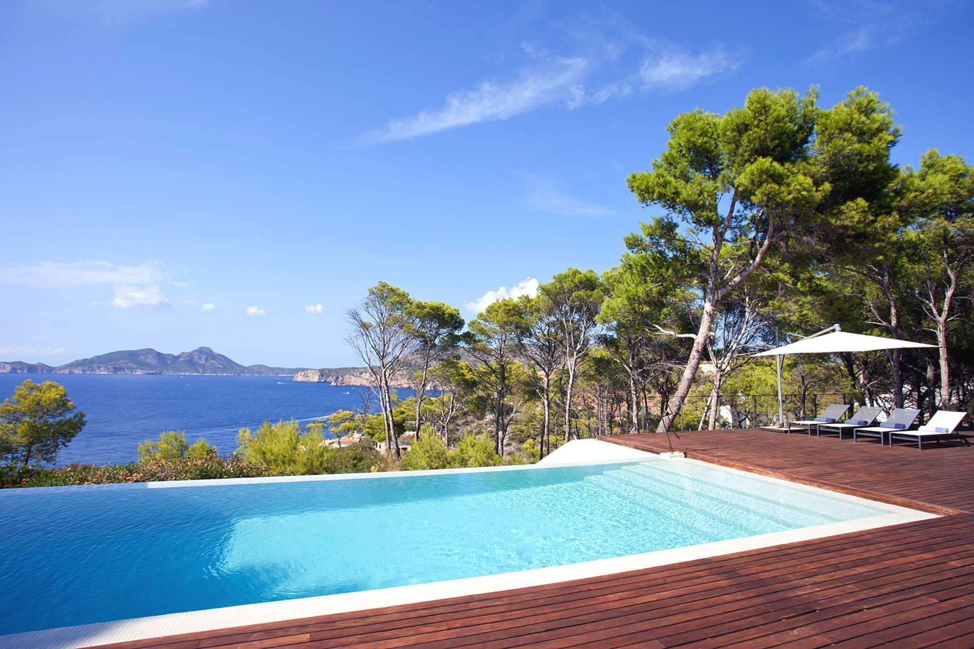 01-332 Sea view Villa Mallorca southwest Bild 5