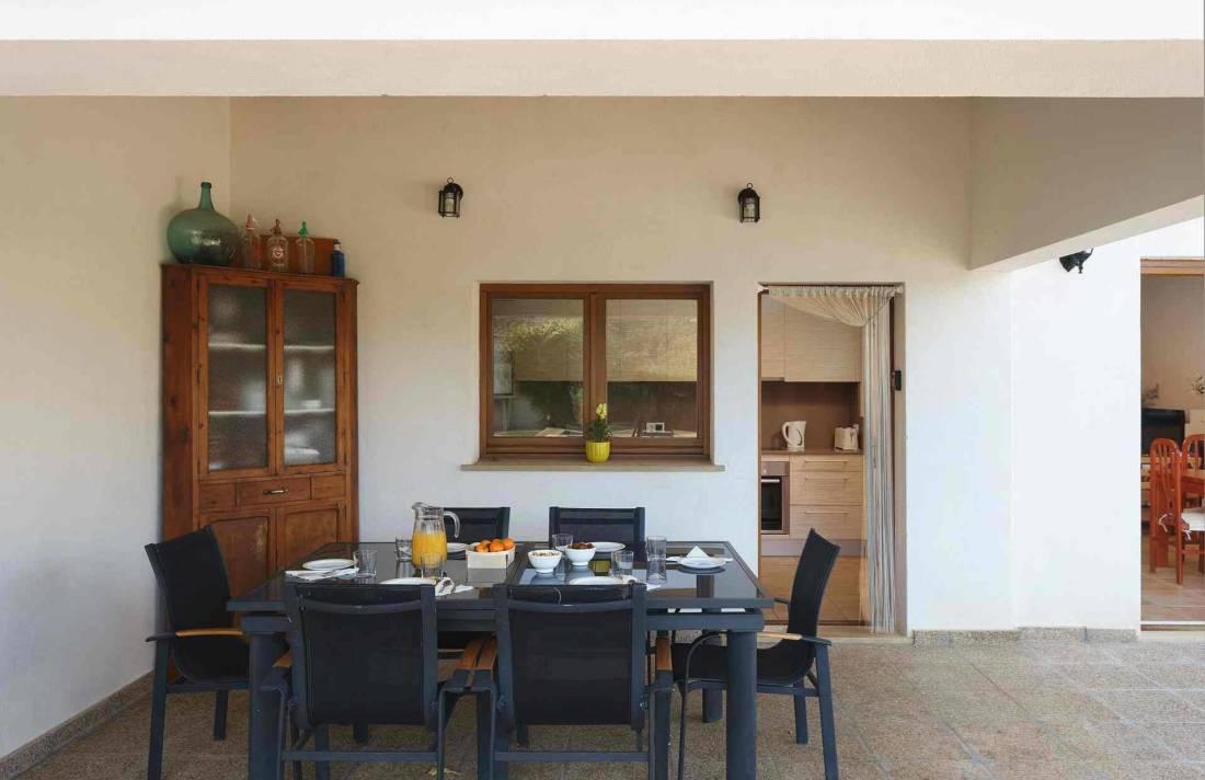 01-284 Finca mit Ausblick Mallorca Norden Bild 6