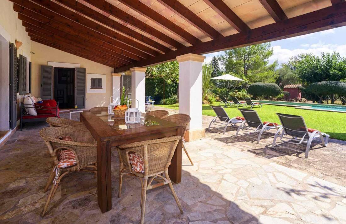 01-161 Finca mit hübschem Garten Mallorca Norden Bild 6