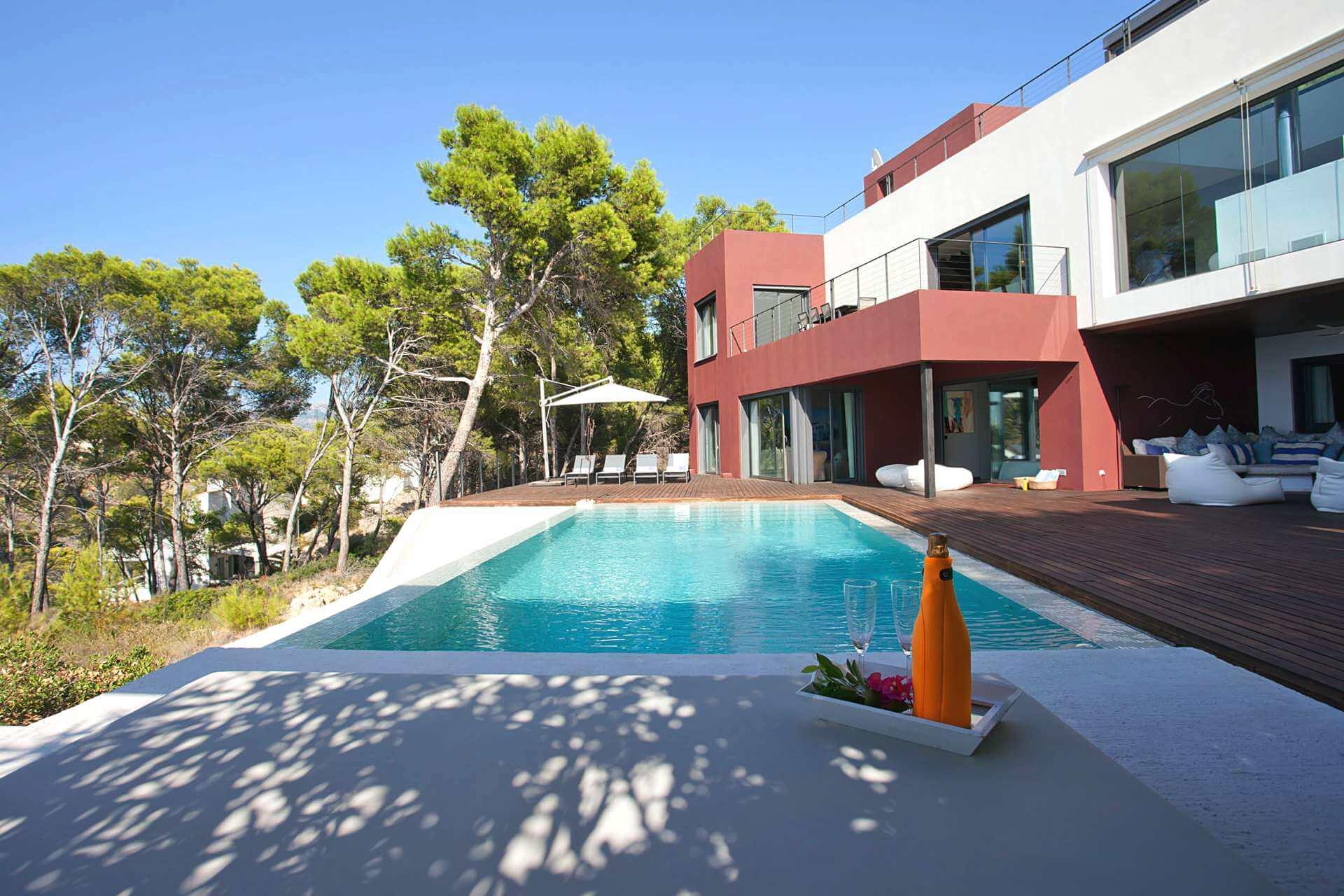 01-332 Meerblick Villa Mallorca Südwesten Bild 6