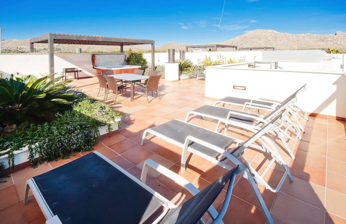 01-203 Luxus Ferienwohnung Mallorca Norden Bild 6