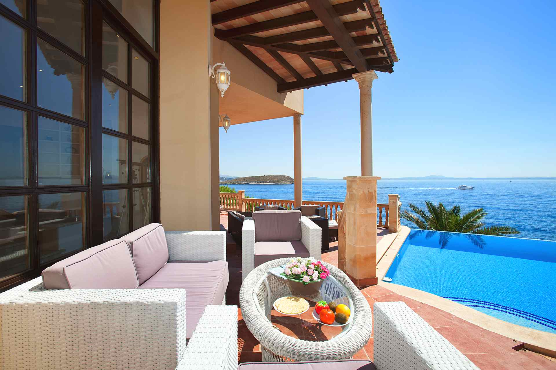 01-23 Villa Mallorca Südwesten mit Meerblick Bild 7