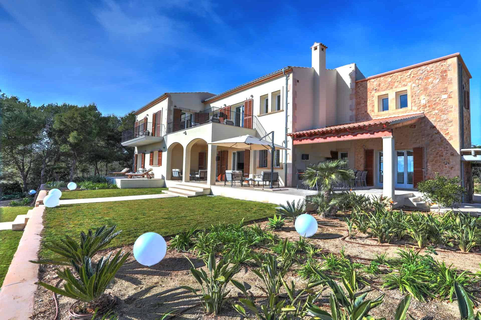01-315 brand new luxury Finca east Mallorca Bild 7
