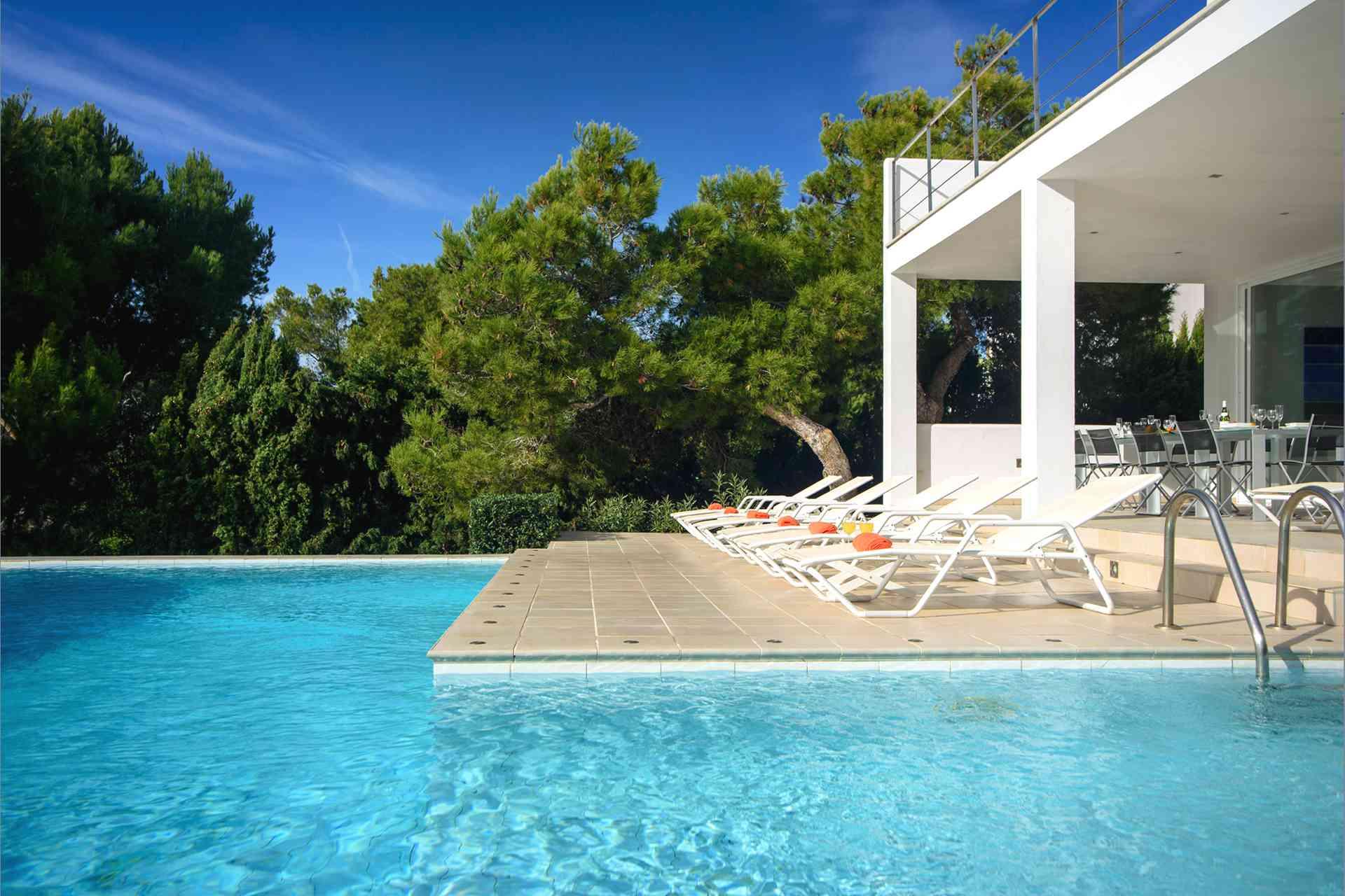 01-156 moderne Meerblick Villa Mallorca Osten Bild 7