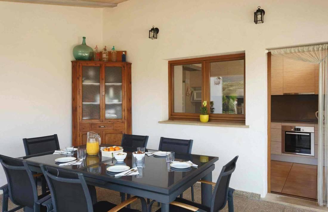 01-284 Finca mit Ausblick Mallorca Norden Bild 7