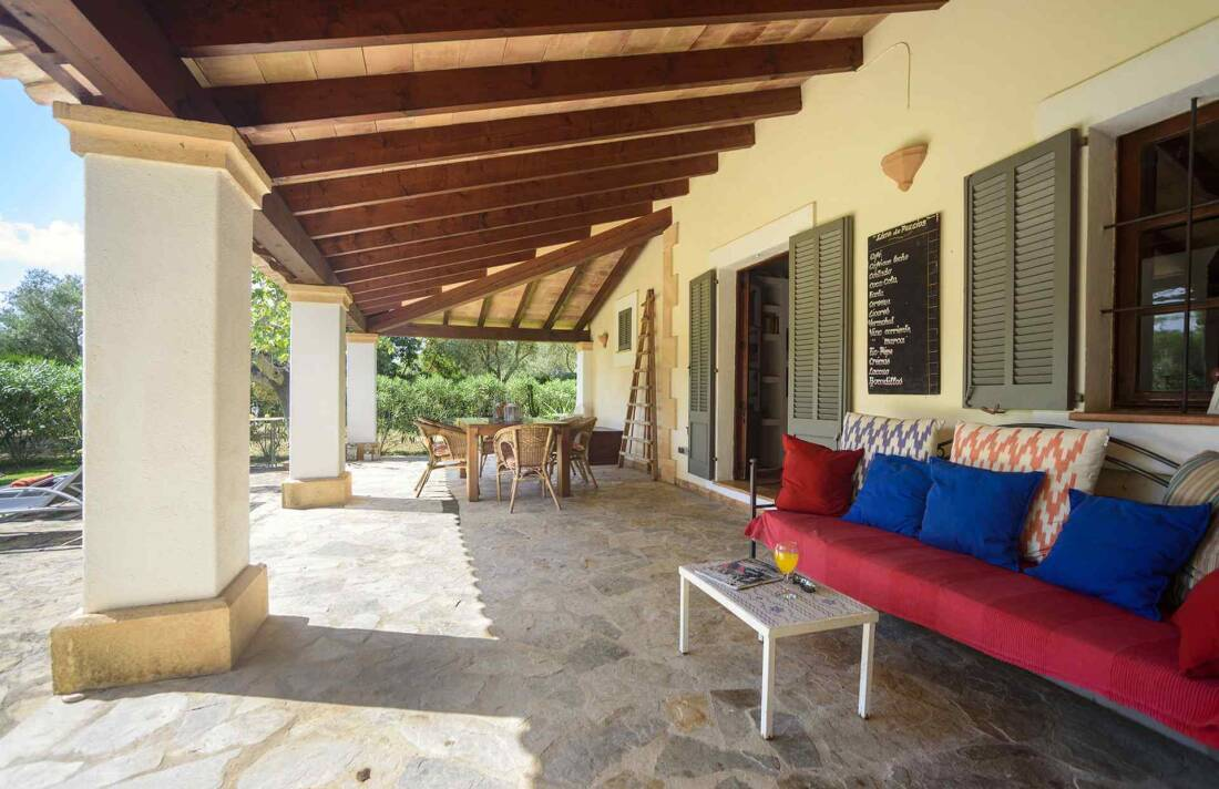 01-161 Finca mit hübschem Garten Mallorca Norden Bild 7