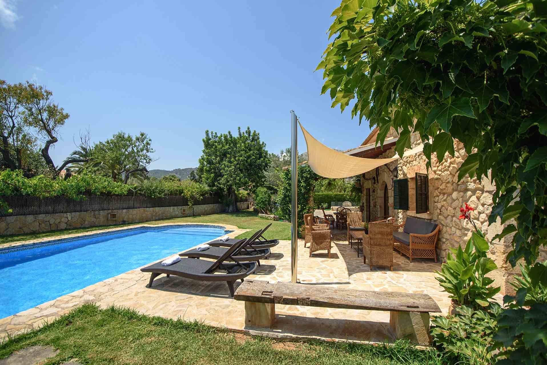 01-164 Romantische Finca Mallorca Norden Bild 7
