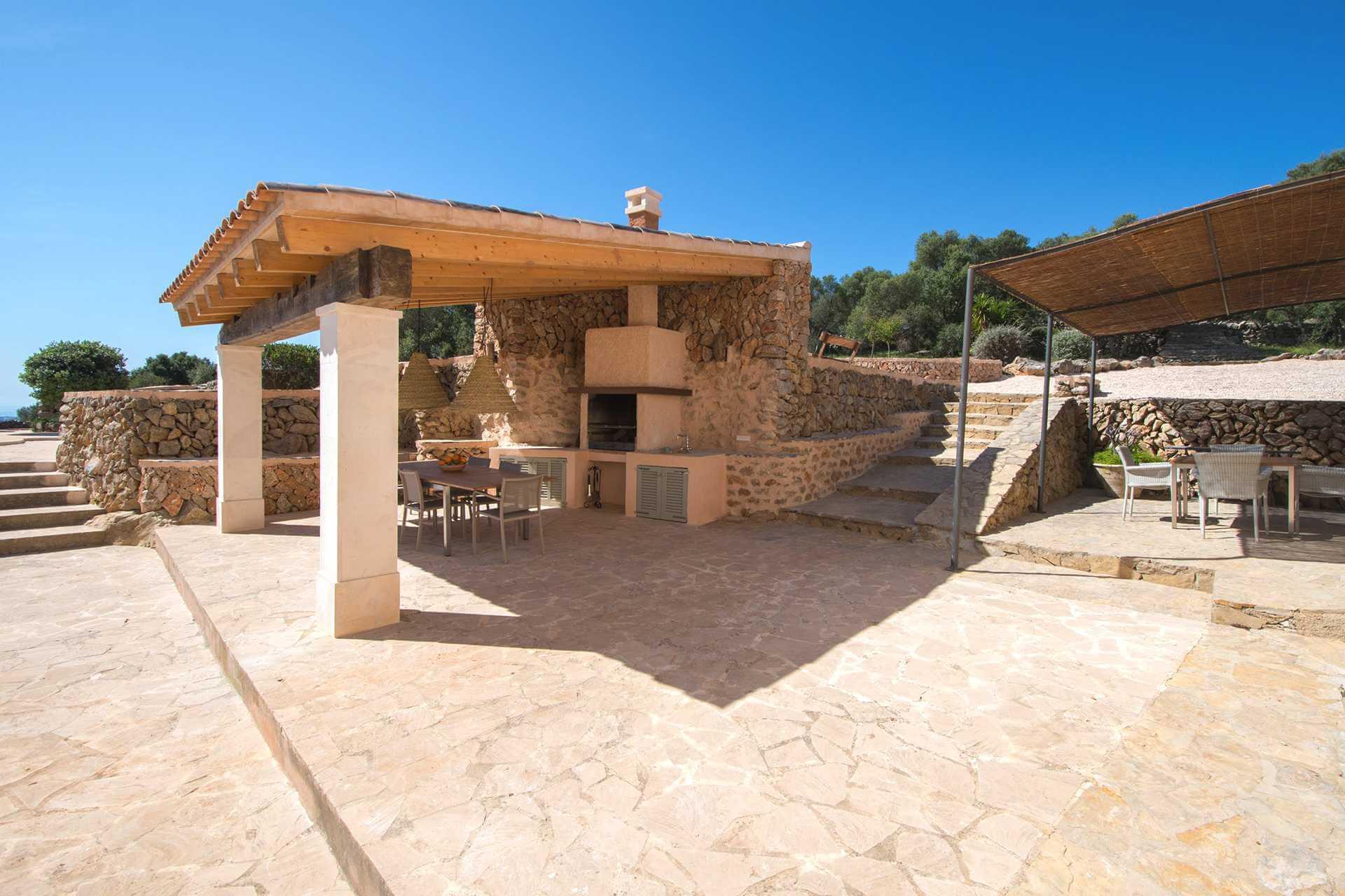 01-345 moderne Meerblick Finca Mallorca Osten Bild 8