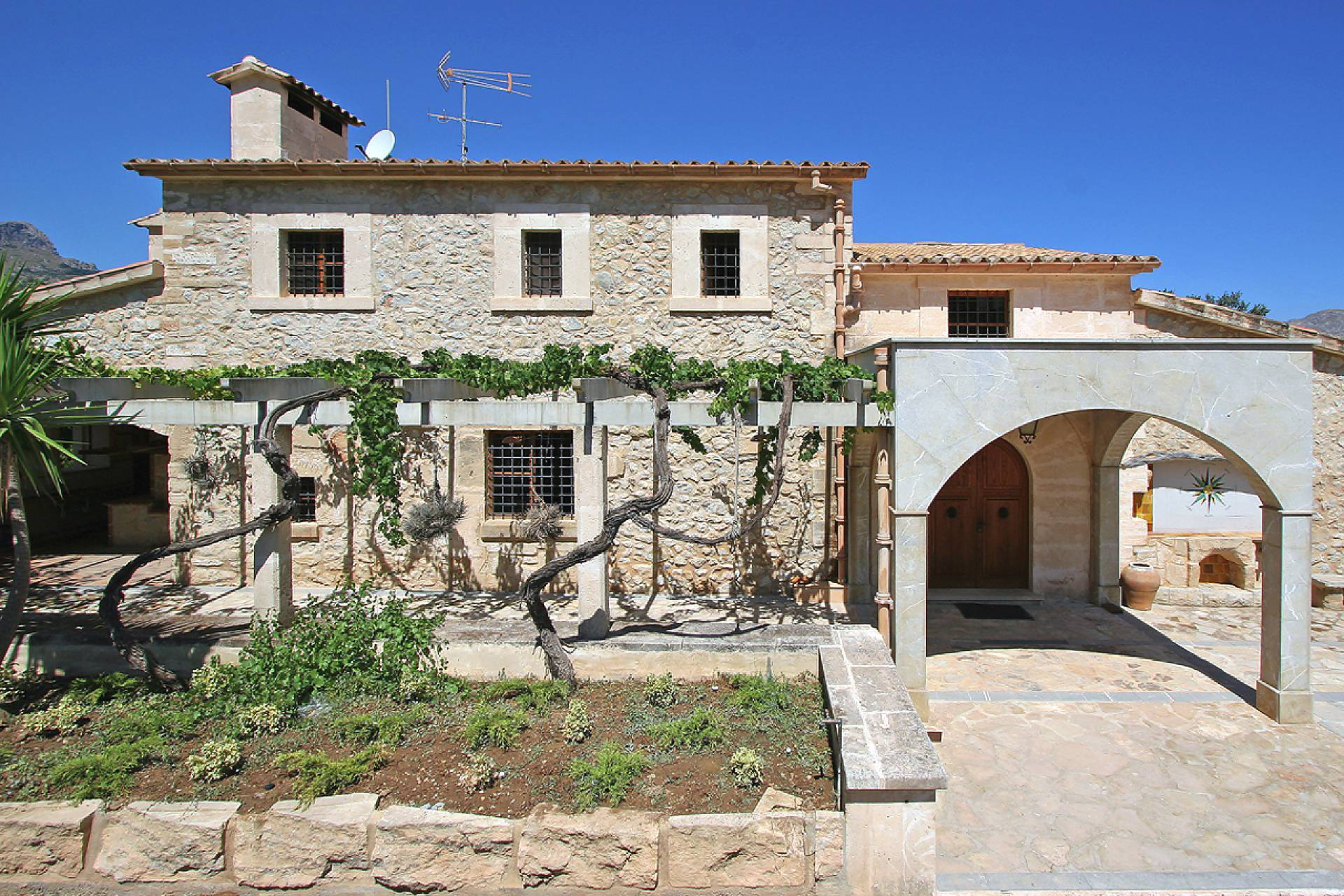 01-148 altes Farmhaus Mallorca Norden Bild 8