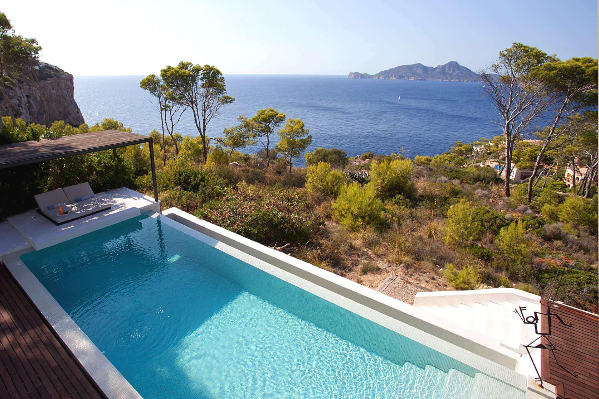 01-332 Sea view Villa Mallorca southwest Bild 8