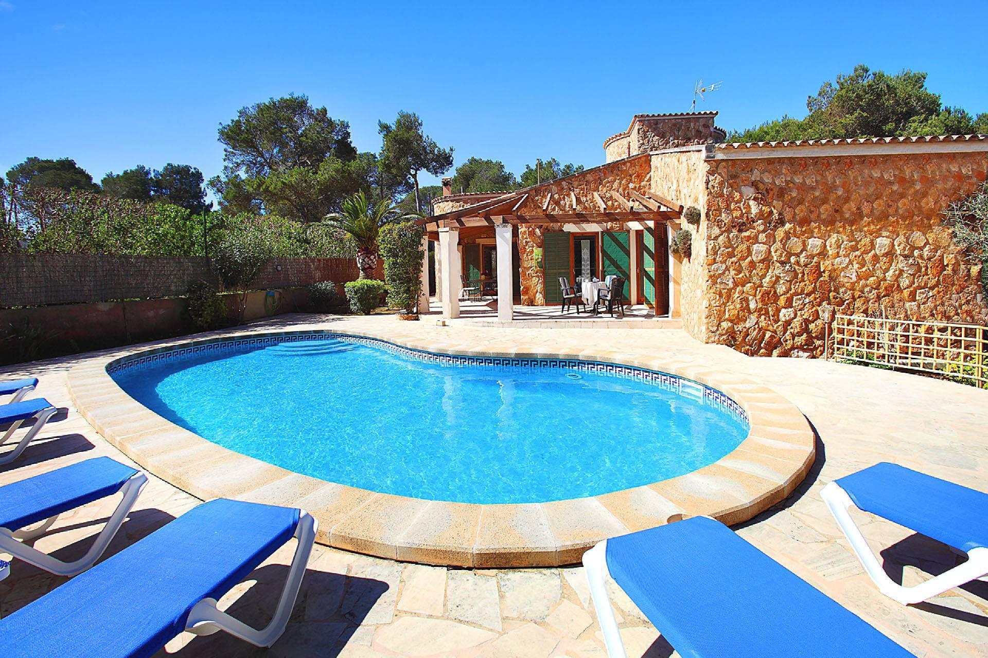 01-174 Gemütliches Ferienhaus Mallorca Süden Bild 8