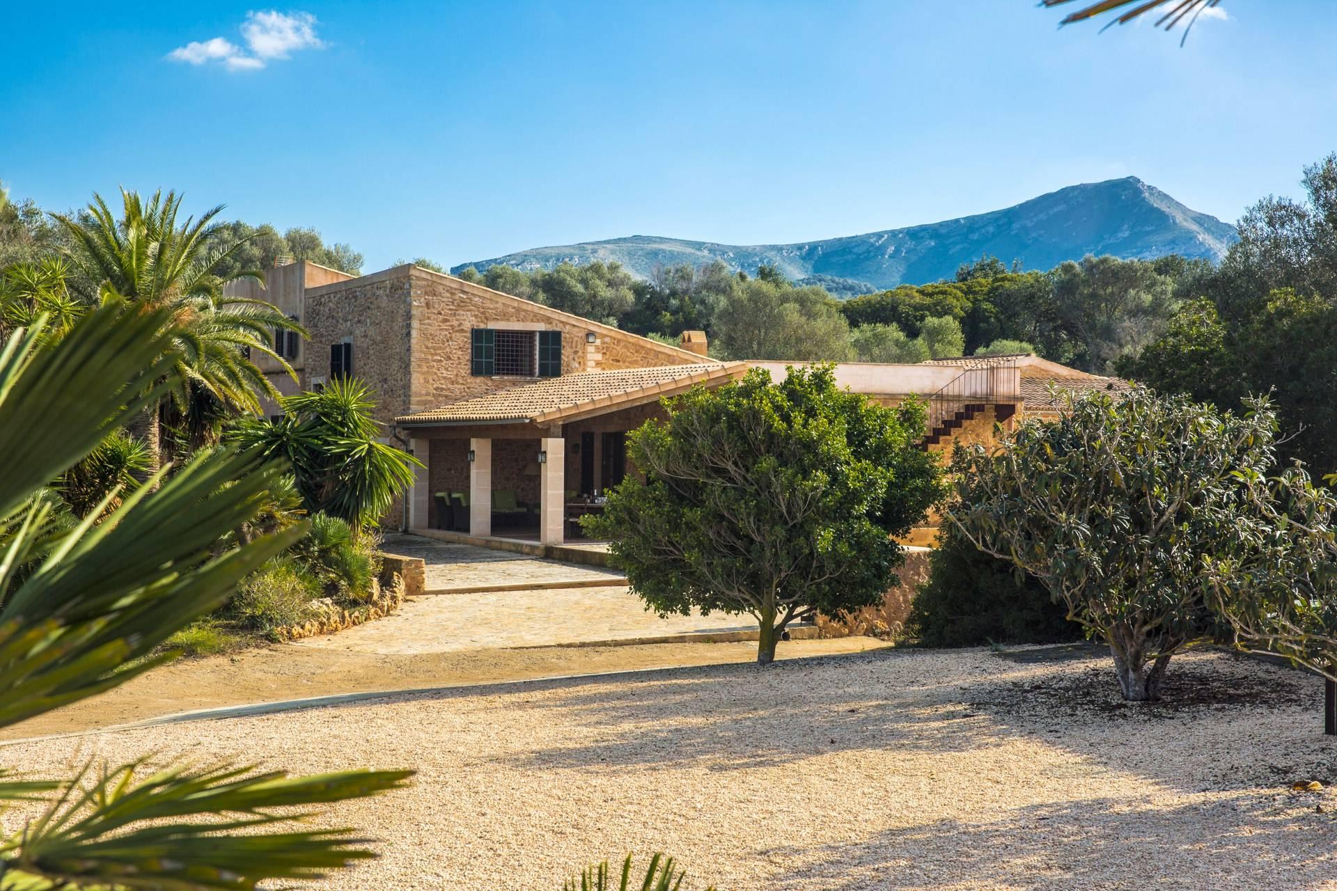 01-103 traumhafte Finca Mallorca Nordosten Bild 9