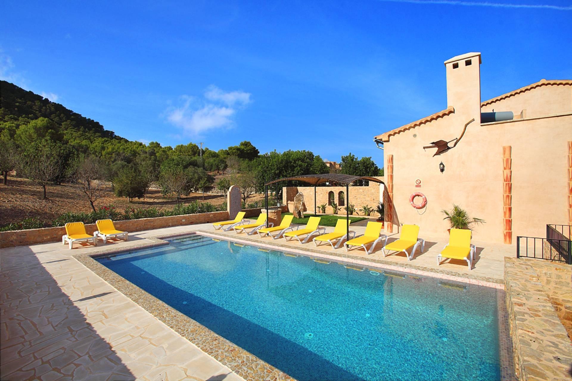 01-159 Ländliches Ferienhaus Mallorca Osten Bild 9