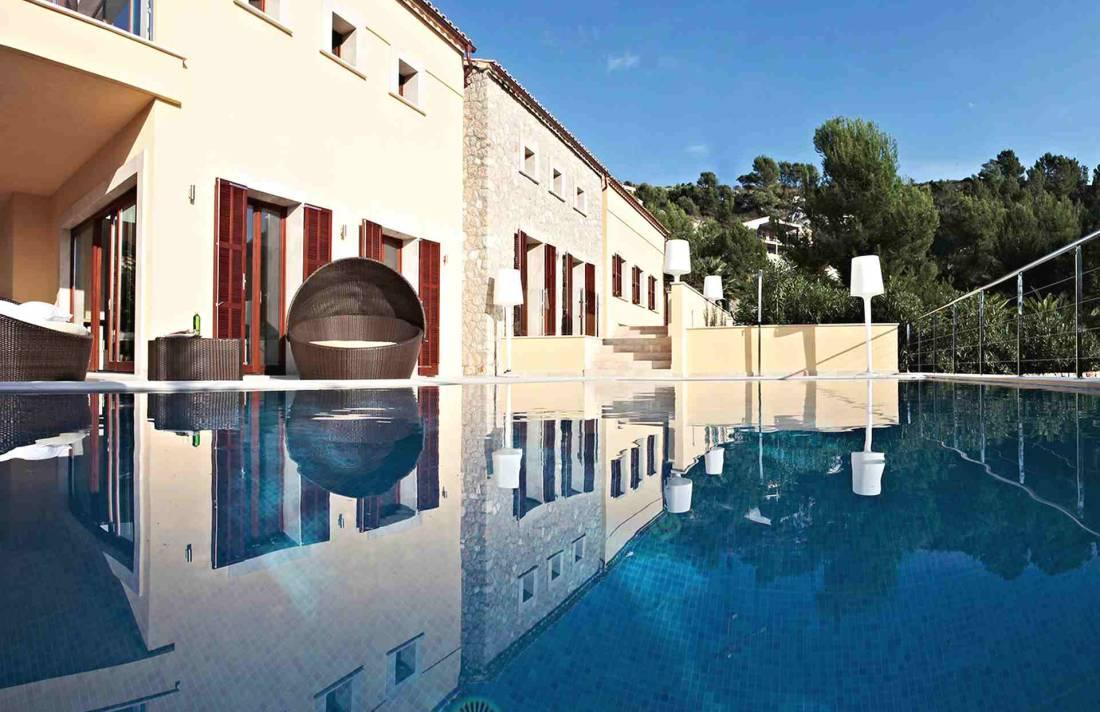 01-327 moderne Golfplatz Villa Mallorca Nordosten Bild 8