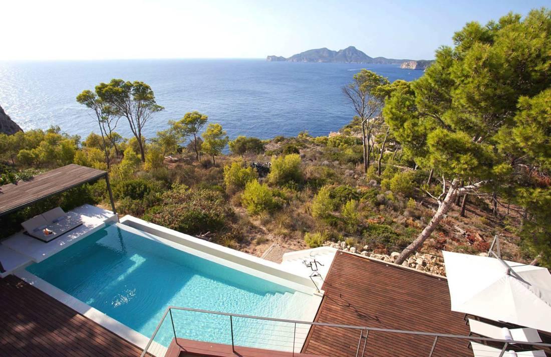 01-332 Sea view Villa Mallorca southwest Bild 9