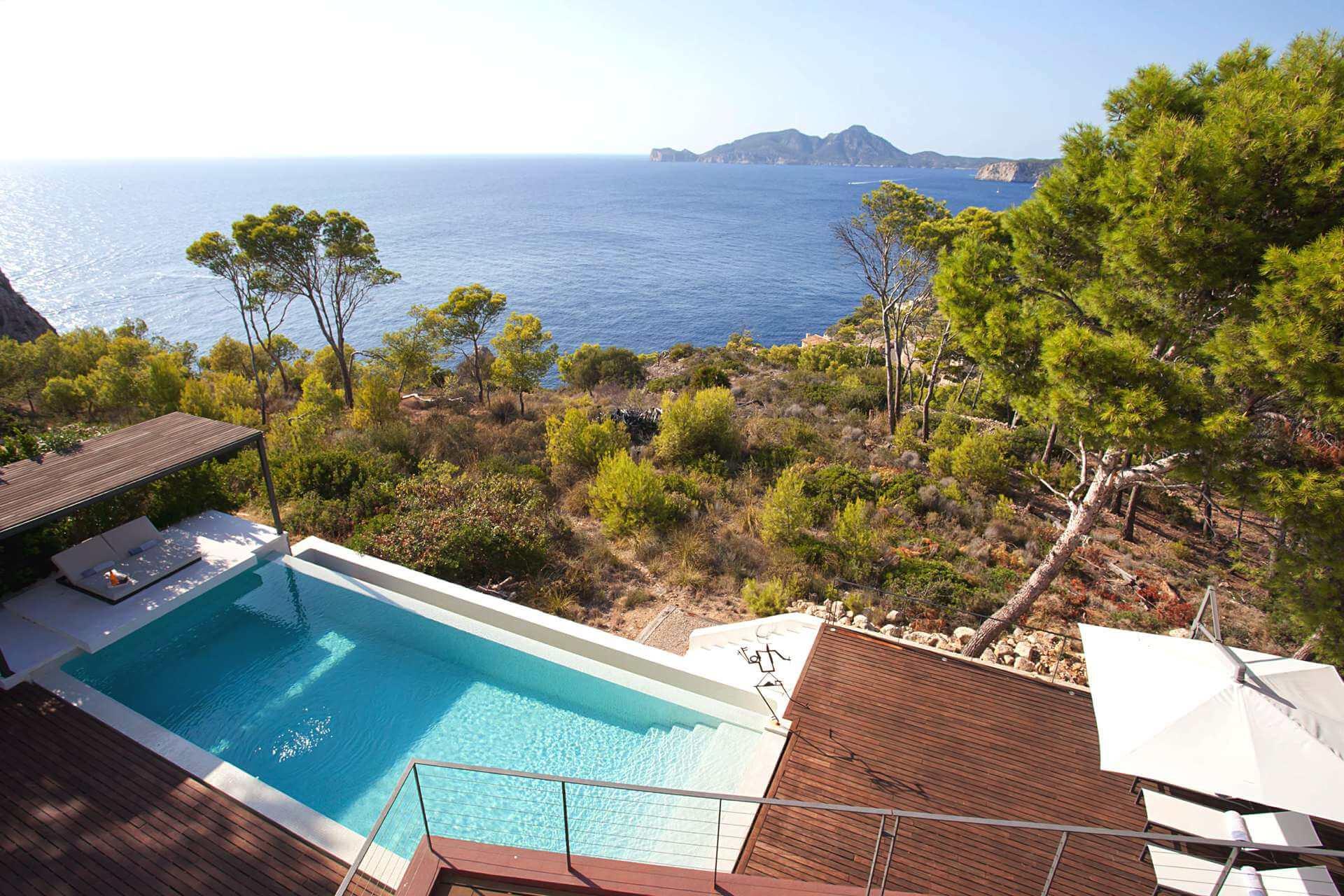 01-332 Meerblick Villa Mallorca Südwesten Bild 9