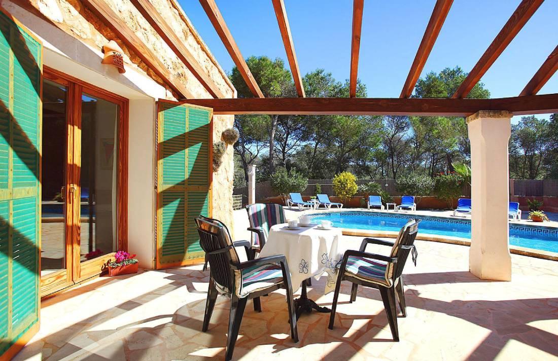01-174 Gemütliches Ferienhaus Mallorca Süden Bild 10