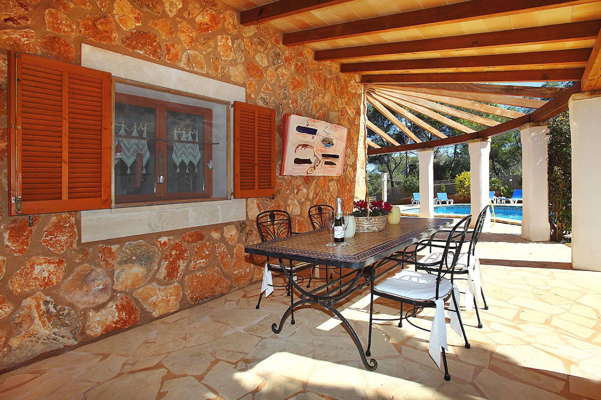 01-174 Gemütliches Ferienhaus Mallorca Süden Bild 11