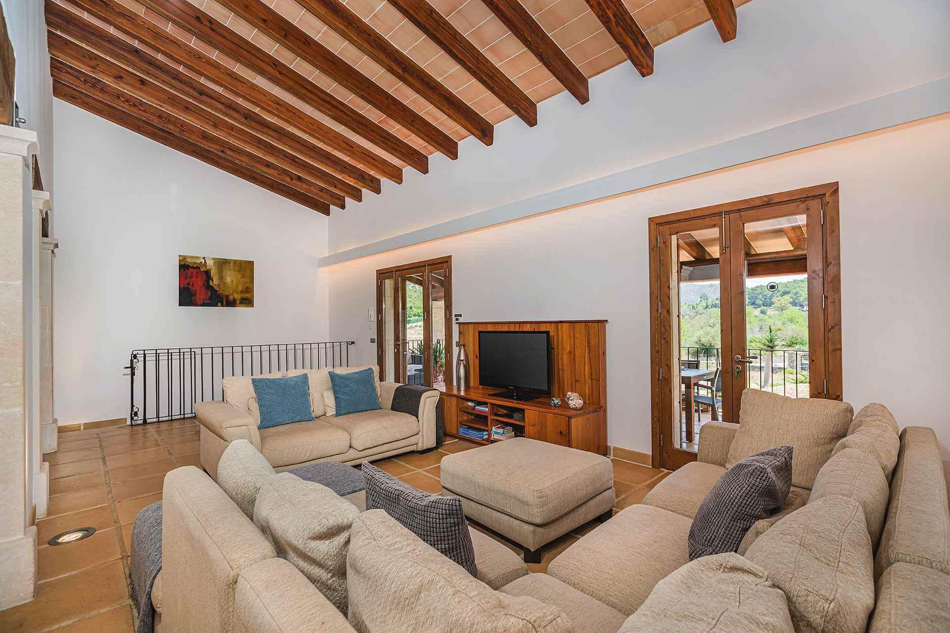 01-348 Luxus Familien Finca Norden Mallorca Bild 12