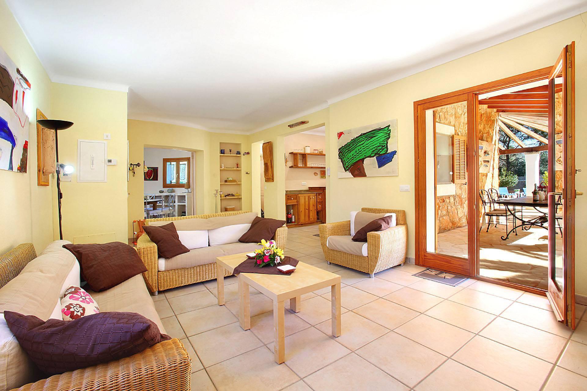 01-174 Gemütliches Ferienhaus Mallorca Süden Bild 12