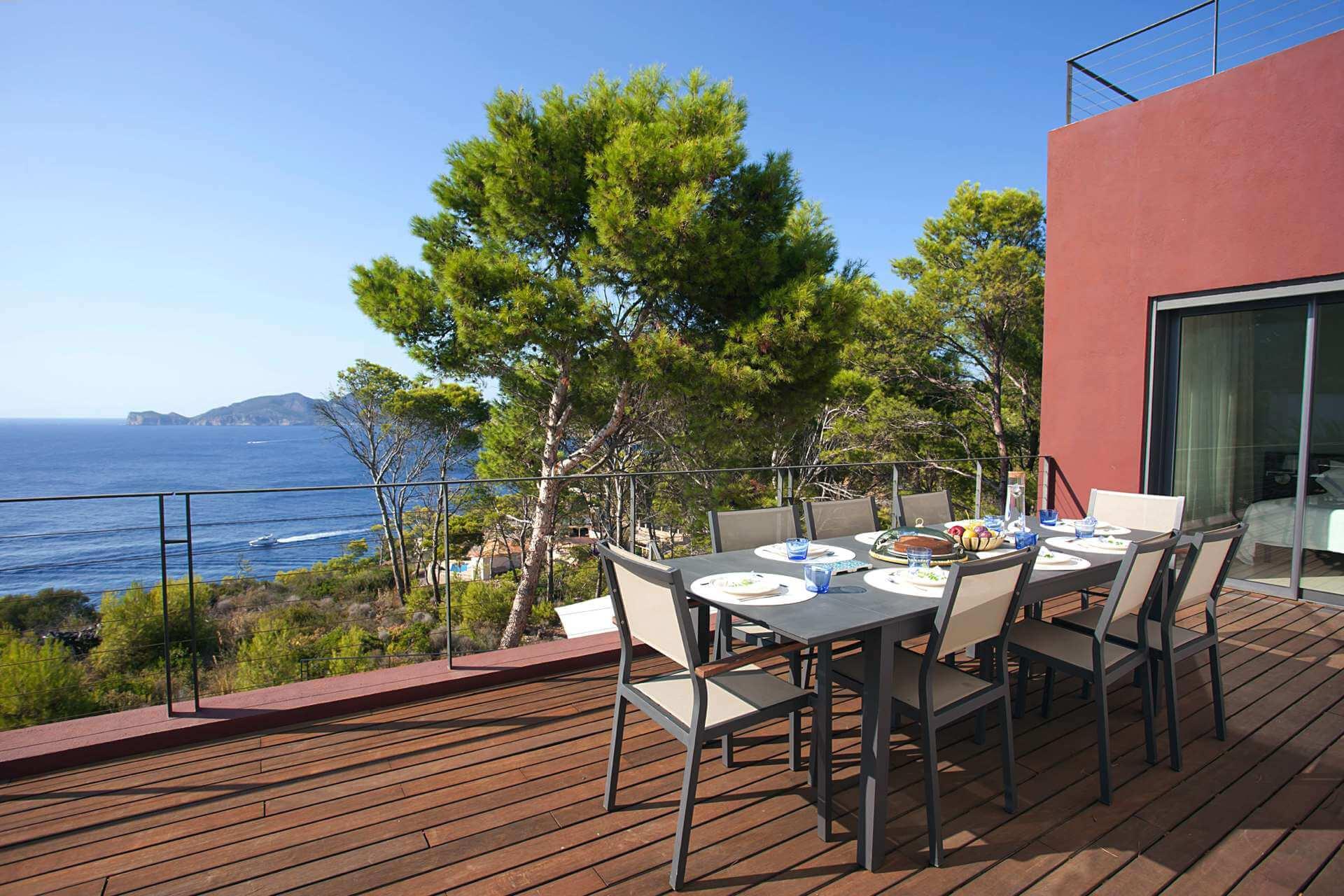01-332 Sea view Villa Mallorca southwest Bild 13
