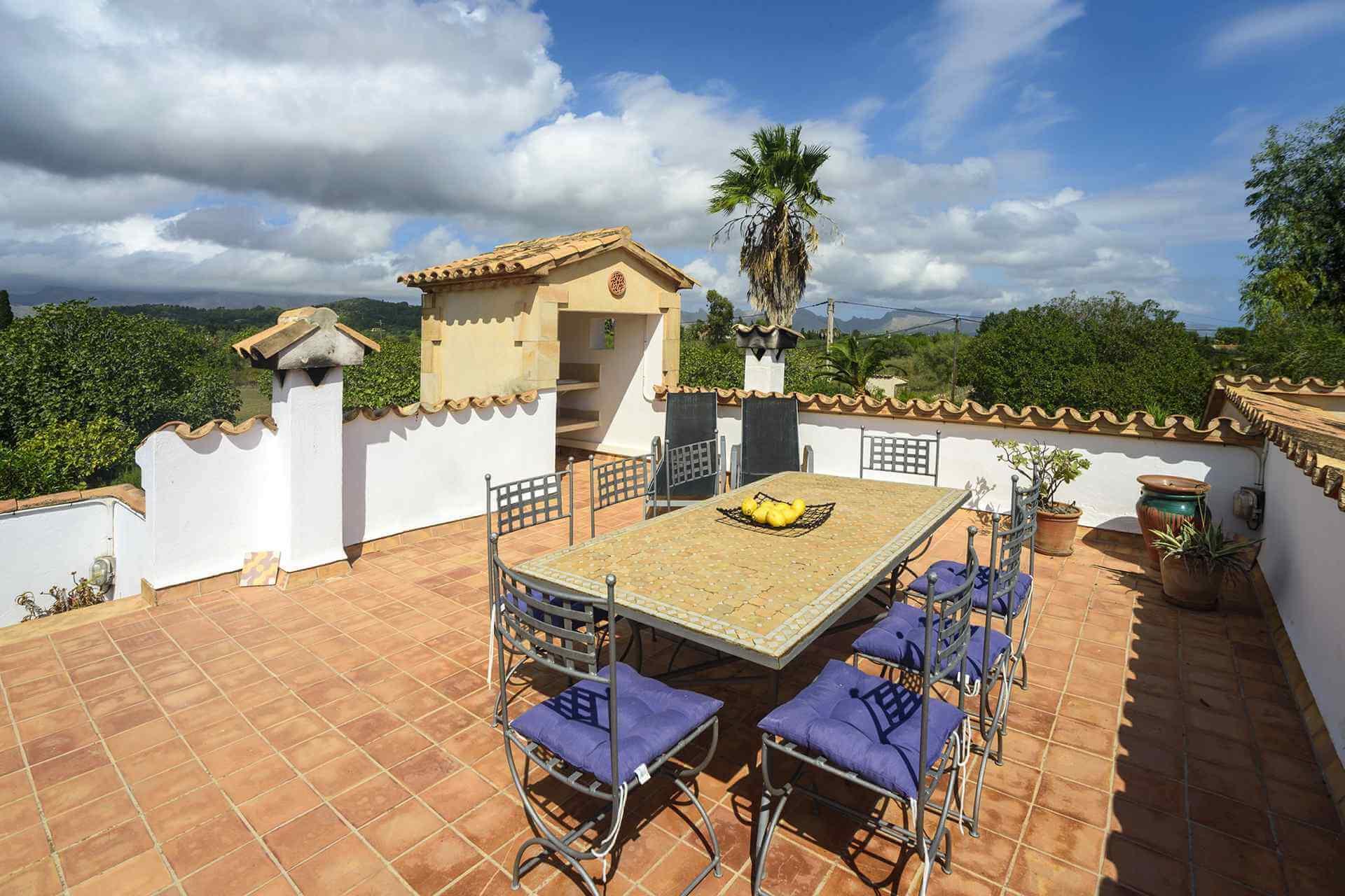 01-161 Finca mit hübschem Garten Mallorca Norden Bild 17
