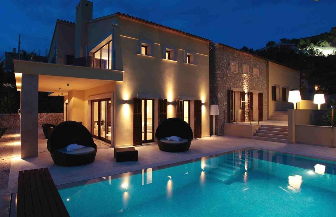 01-327 moderne Golfplatz Villa Mallorca Nordosten Bild 19