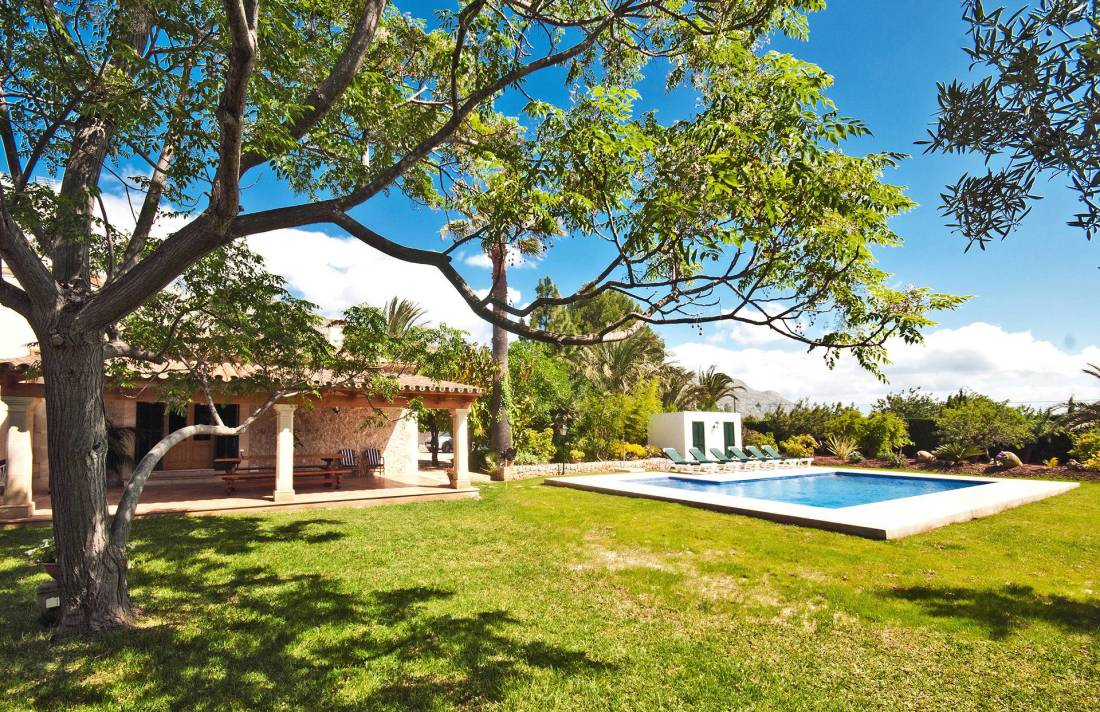 01-223 Rustic Holiday home Mallorca North Bild 1