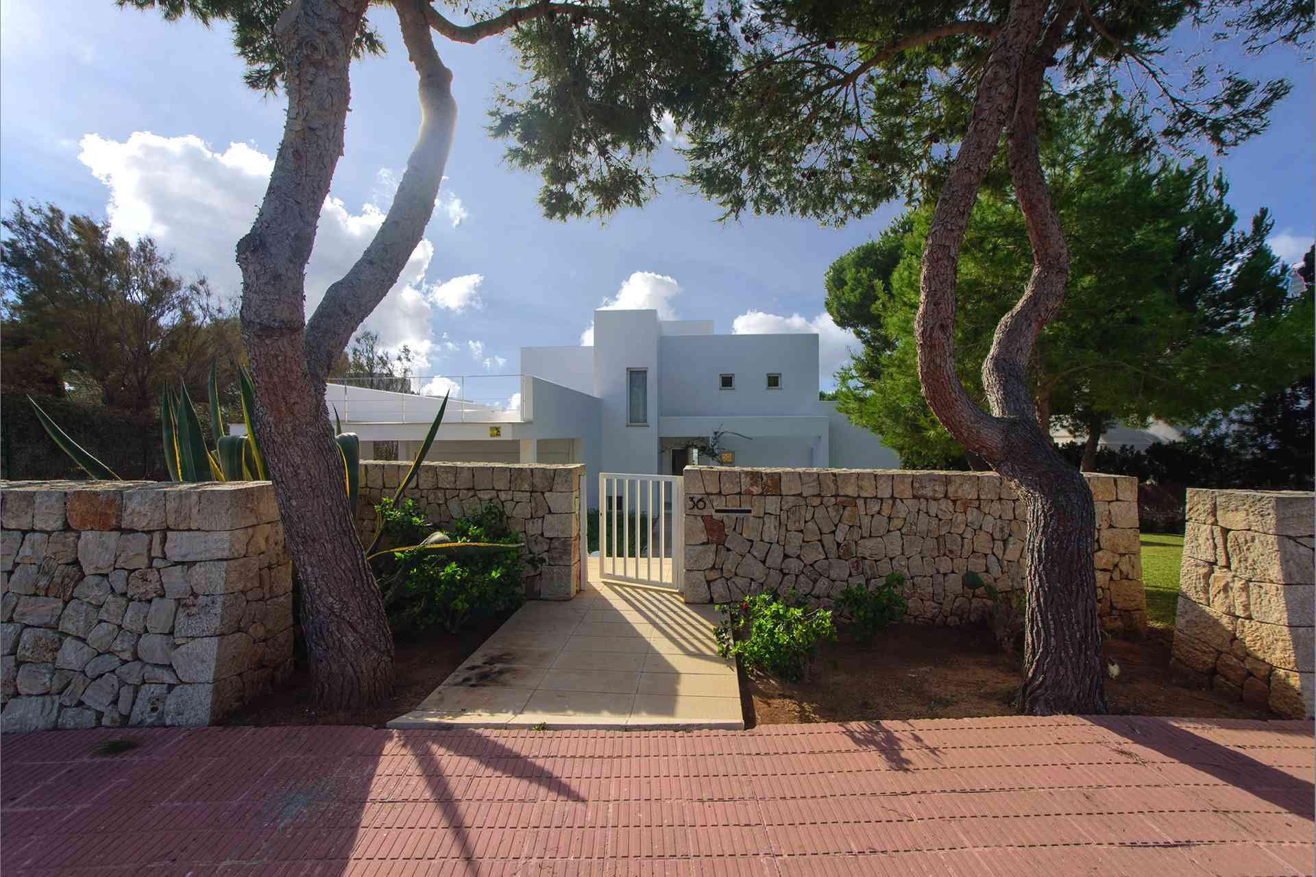 01-156 moderne Meerblick Villa Mallorca Osten Bild 32