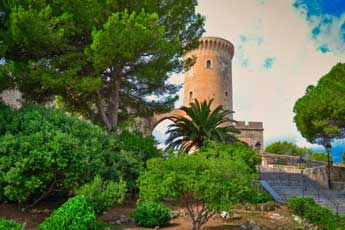 Castell de Bellver in Palma