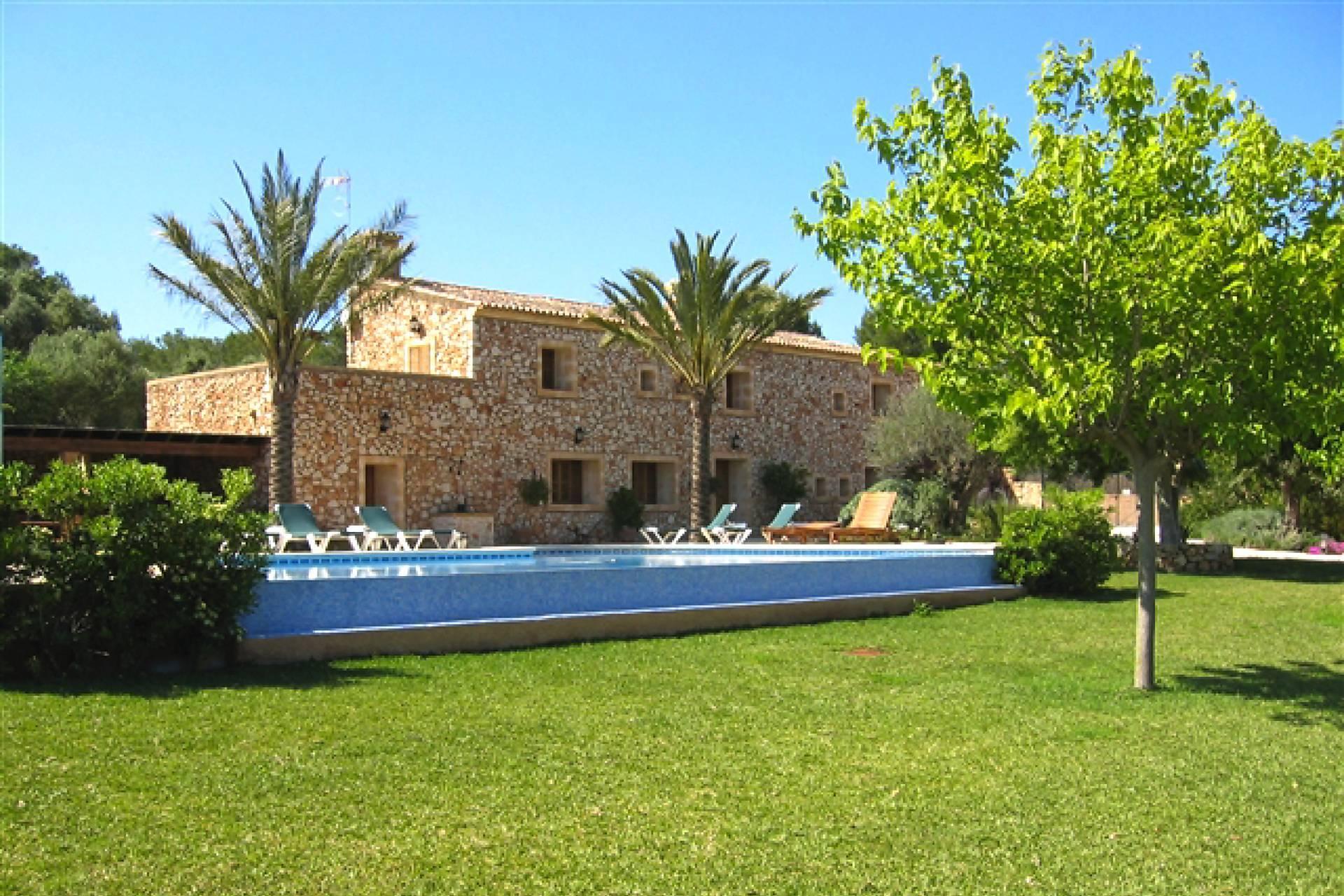 01-66 Rustikale Finca Mallorca Osten Bild 3