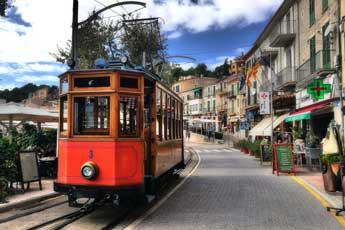 historische Straßenbahn nach Sóller