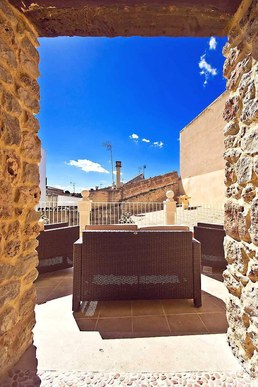 01-83 ländliches Stadthaus Mallorca Norden Bild 14