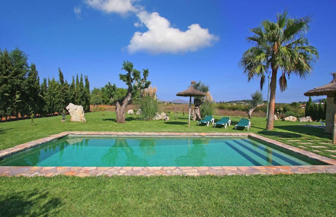 01-55 Familienfreundliche Finca Mallorca Norden Bild 4