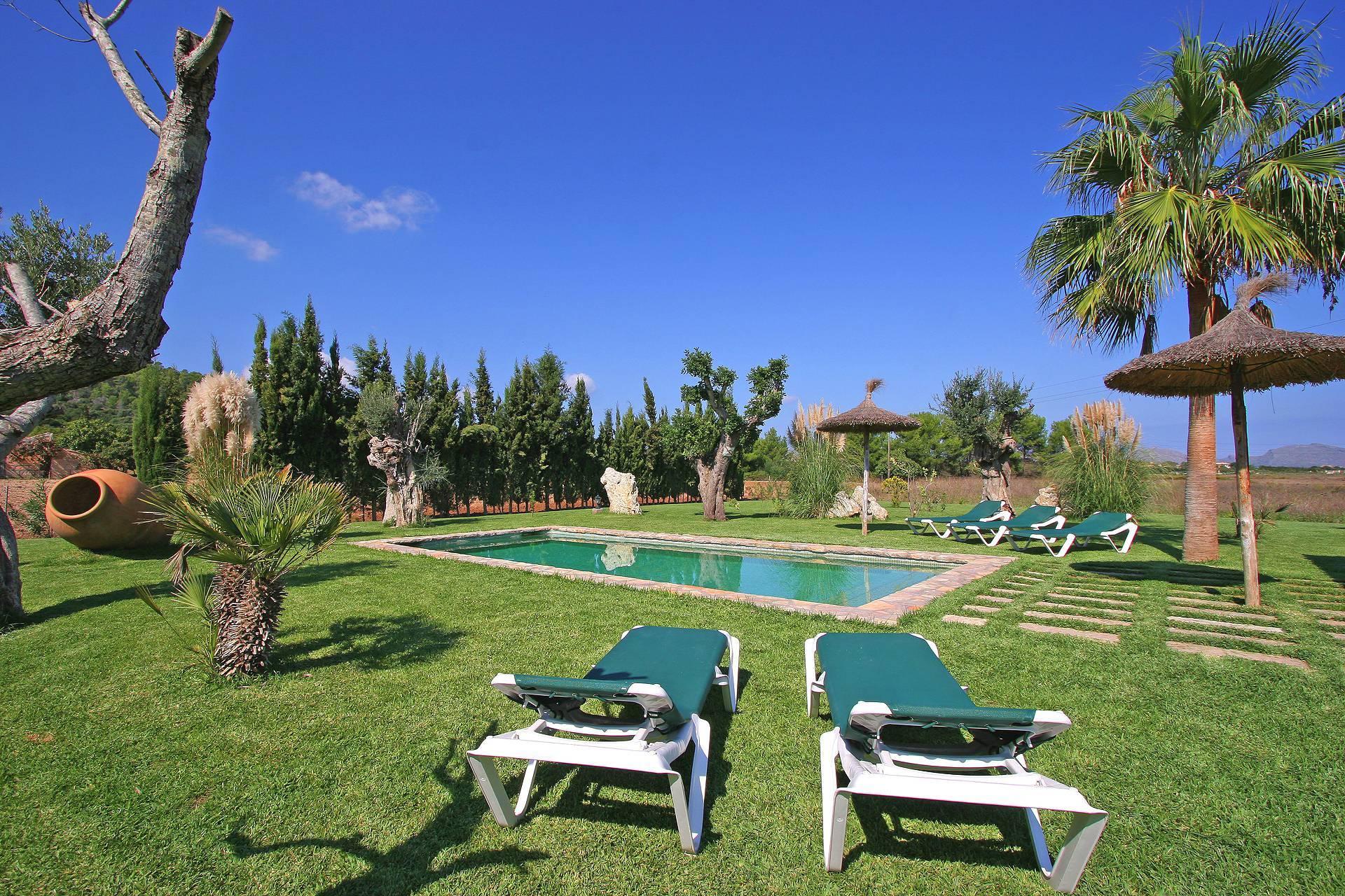 01-55 Familienfreundliche Finca Mallorca Norden Bild 5