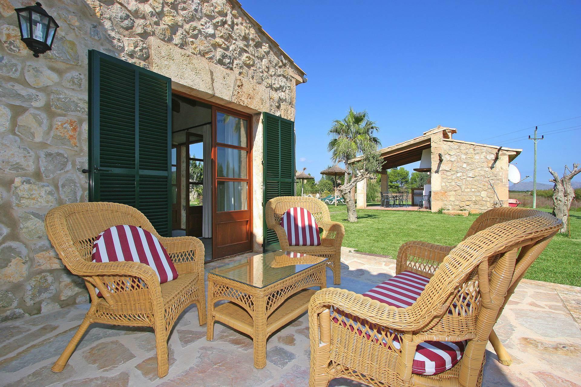 01-55 Familienfreundliche Finca Mallorca Norden Bild 9