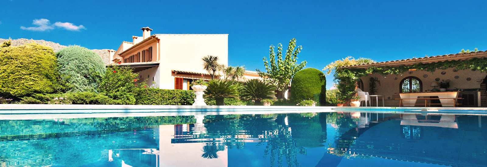 Luxus finca mallorca mieten villa ferienhaus ferienwohnung for Mallorca ferienhaus mieten